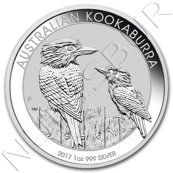 1$ AUSTRALIA 2017 - Kookaburra