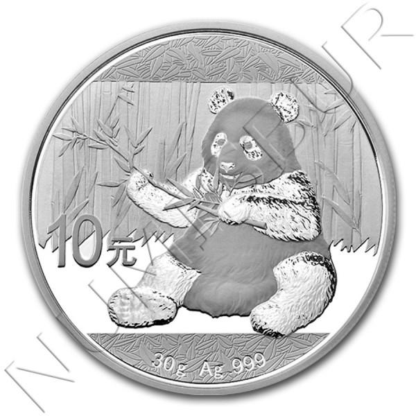 10 yuan CHINA 2017 - Panda