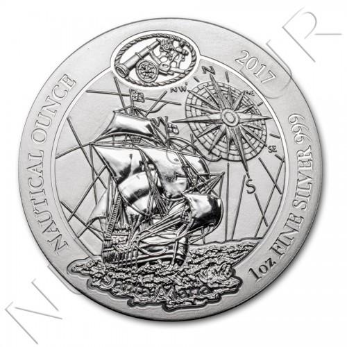 50 rwf RUANDA 2017 - Nautical Ounce