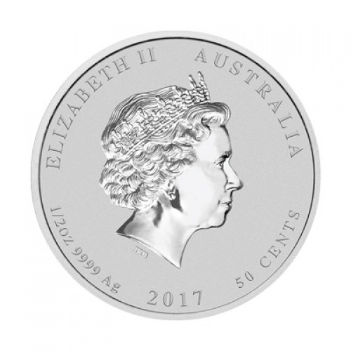 50 cents  AUSTRALIA 2017 - Rooster