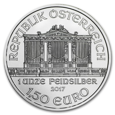 1,5€ AUSTRIA 2017 - Filamornica de Viena
