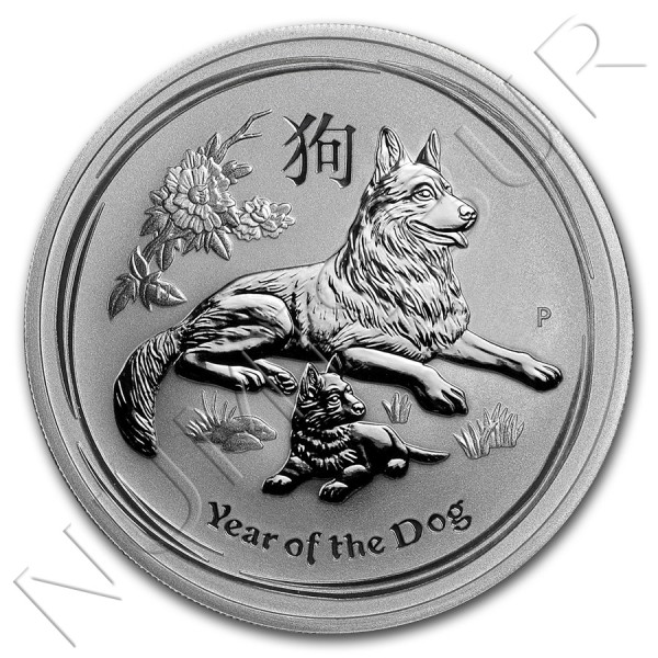 1$ AUSTRALIA 2018 - Year of dog Lunar II
