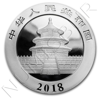 10 yuan CHINA 2018 - Panda