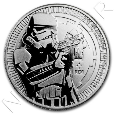 2$ NIEU 2018 - Star Wars Stormtrooper