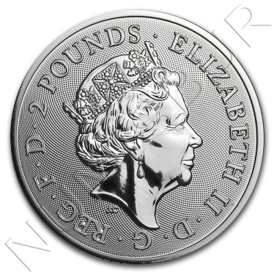 2£ GREAT BRITAIN 2018 - Year of the dog