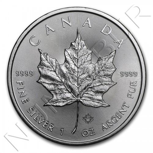 5$ CANADA 2018 - Hoja Arce MAPLE