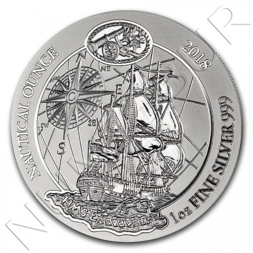 50 rwf RUANDA 2018 - Nautical Ounce Endeavour