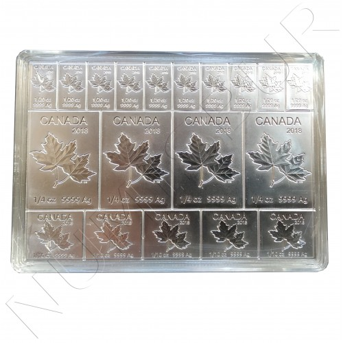 1$ / 50 cents / 25 cents CANADA 2018 - Maple Multibar