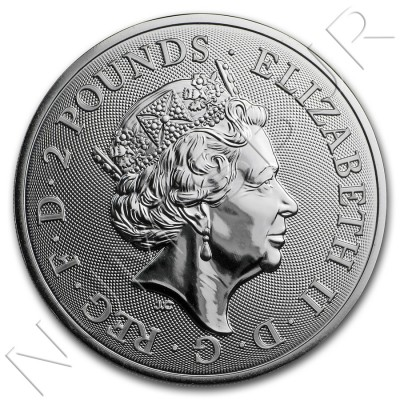 2£ GREAT BRITAIN 2019 - Year of Pig