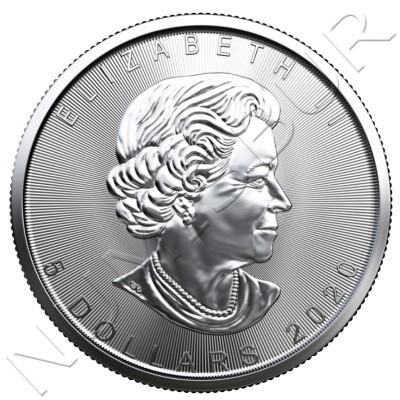 5$ CANADA 2020 - Maple Leaf BU