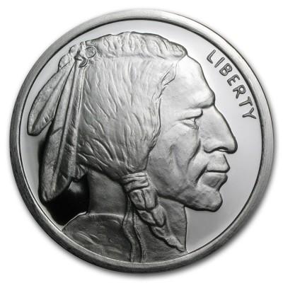 5 oz PLATA PURA - Liberty BIG NICKEL