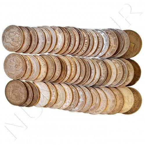5 pesetas ESPAÑA variadas - INVERSION PLATA