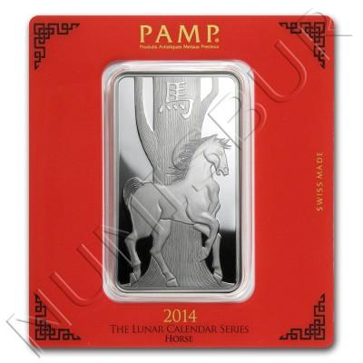 """Ingot PAMP 2014 - Lunar serie """"HORSE"""""""