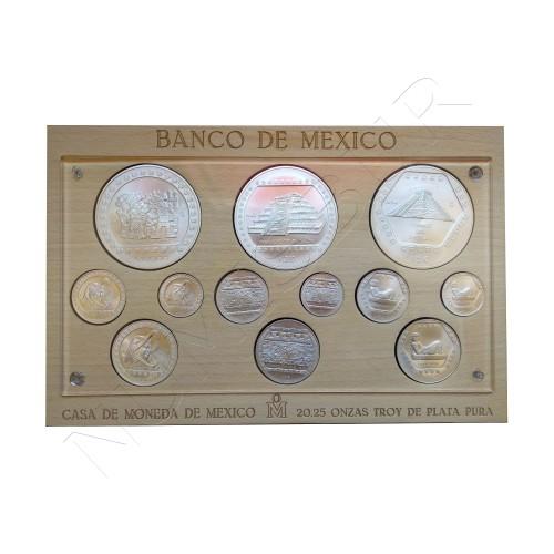 MEXICO Casa de la moneda - 20,25 onzas plata pura